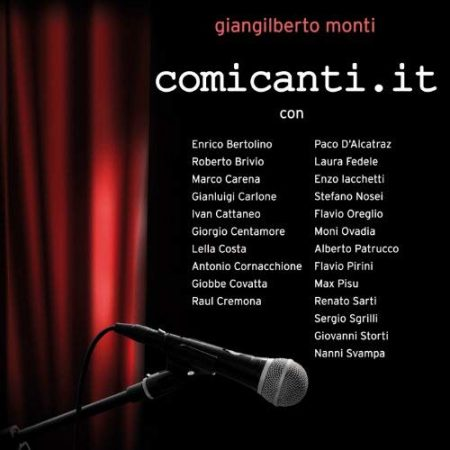 CD Comicanti.it, book cover - Giangilberto Monti